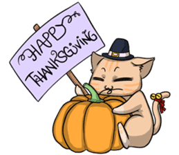 AOL ; Thanksgiving sticker #8306562
