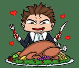 AOL ; Thanksgiving sticker #8306573