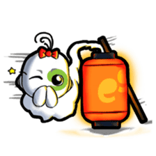 mobile9 Cube Halloween, Christmas & More sticker #8311829