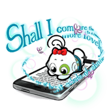 mobile9 Cube Halloween, Christmas & More sticker #8311845