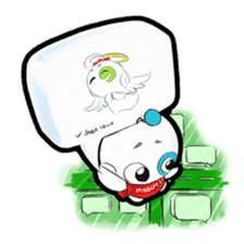 mobile9 Cube Halloween, Christmas & More sticker #8311846