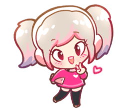 RuRu - Gamer girl sticker #8313180