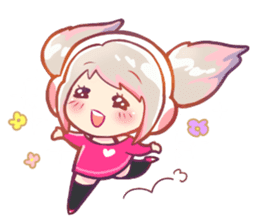 RuRu - Gamer girl sticker #8313182