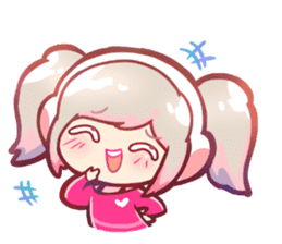 RuRu - Gamer girl sticker #8313185