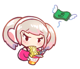 RuRu - Gamer girl sticker #8313188