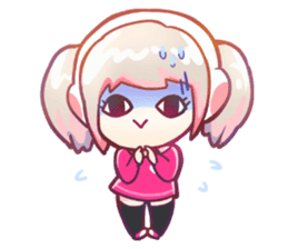 RuRu - Gamer girl sticker #8313189