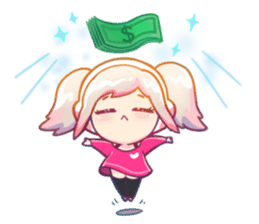 RuRu - Gamer girl sticker #8313190