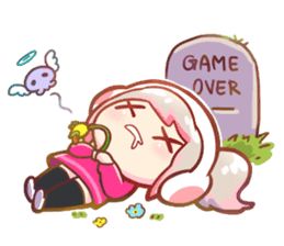 RuRu - Gamer girl sticker #8313191