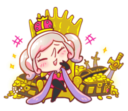 RuRu - Gamer girl sticker #8313192