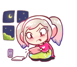 RuRu - Gamer girl sticker #8313202