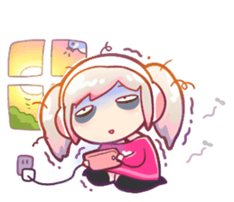 RuRu - Gamer girl sticker #8313203