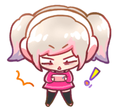 RuRu - Gamer girl sticker #8313206
