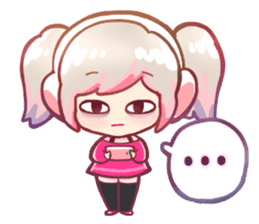 RuRu - Gamer girl sticker #8313207