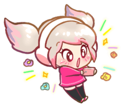 RuRu - Gamer girl sticker #8313208