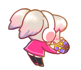 RuRu - Gamer girl sticker #8313209