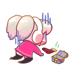RuRu - Gamer girl sticker #8313210