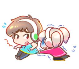 RuRu - Gamer girl sticker #8313212
