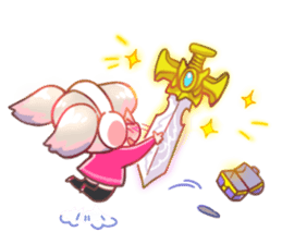 RuRu - Gamer girl sticker #8313215