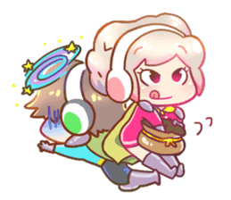 RuRu - Gamer girl sticker #8313217