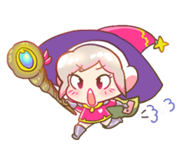 RuRu - Gamer girl sticker #8313219