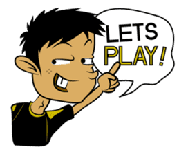 Noob Gamer [ENG] sticker #8317262