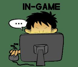 Noob Gamer [ENG] sticker #8317265