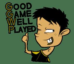 Noob Gamer [ENG] sticker #8317267