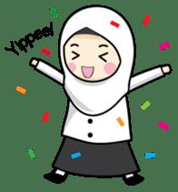 Jasmin Muslimah Student sticker #8325913