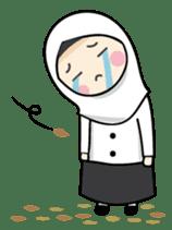 Jasmin Muslimah Student sticker #8325918