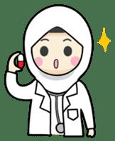 Jasmin Muslimah Student sticker #8325922