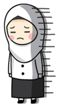 Jasmin Muslimah Student sticker #8325924