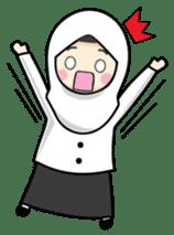 Jasmin Muslimah Student sticker #8325925