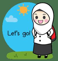 Jasmin Muslimah Student sticker #8325927
