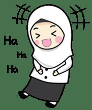 Jasmin Muslimah Student sticker #8325935
