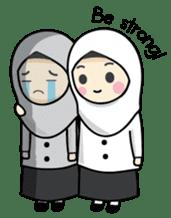 Jasmin Muslimah Student sticker #8325940