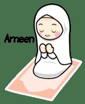 Jasmin Muslimah Student sticker #8325942