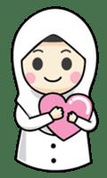 Jasmin Muslimah Student sticker #8325943