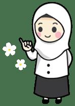 Jasmin Muslimah Student sticker #8325944