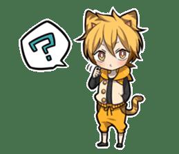 TIGER KITTEN sticker #8327001