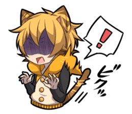 TIGER KITTEN sticker #8327002