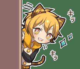 TIGER KITTEN sticker #8327005