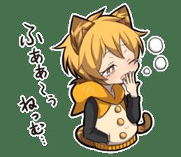 TIGER KITTEN sticker #8327015