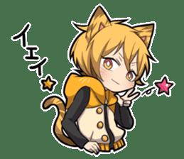TIGER KITTEN sticker #8327016