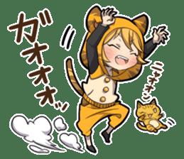 TIGER KITTEN sticker #8327025