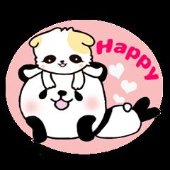 panda and kitten   kind words