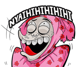 Pocong Pinky sticker #8328950
