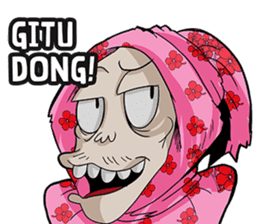 Pocong Pinky sticker #8328968