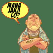 Paijo Preman Pasar sticker #8329451