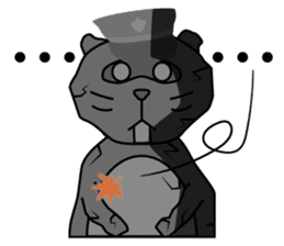 The police of leopard cat (English) sticker #8333406