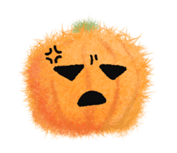 Fluffy balls (4) Halloween sticker #8337349